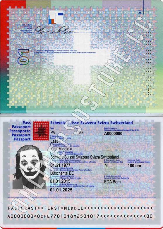 SWITZERLAND PASSPORT