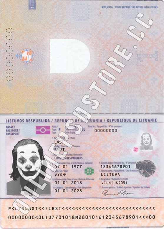 LITHUANIA PASSPORT