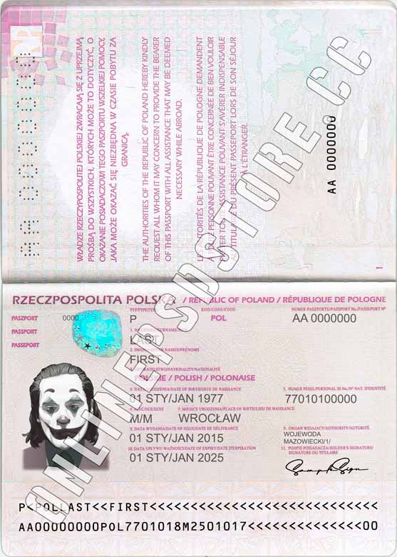 POLAND PASSPORT